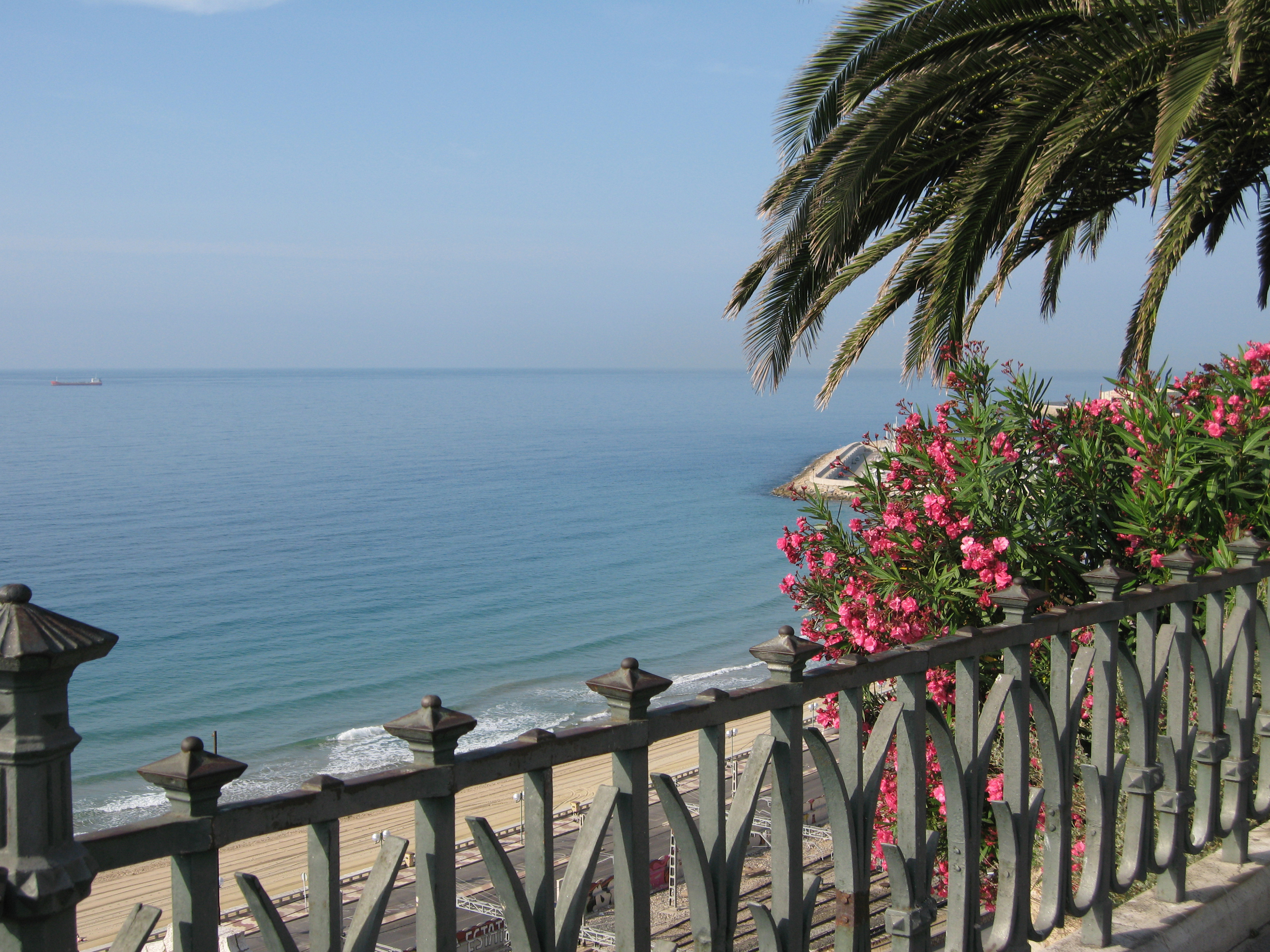 Tarragona Spain  city pictures gallery : Tarragona Spain Balcon sea view Wikimedia Commons