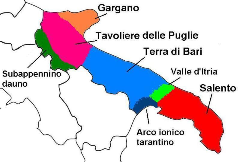 Arco ionico tarantino reisef hrer auf wikivoyage - Il tavoliere delle puglie ...