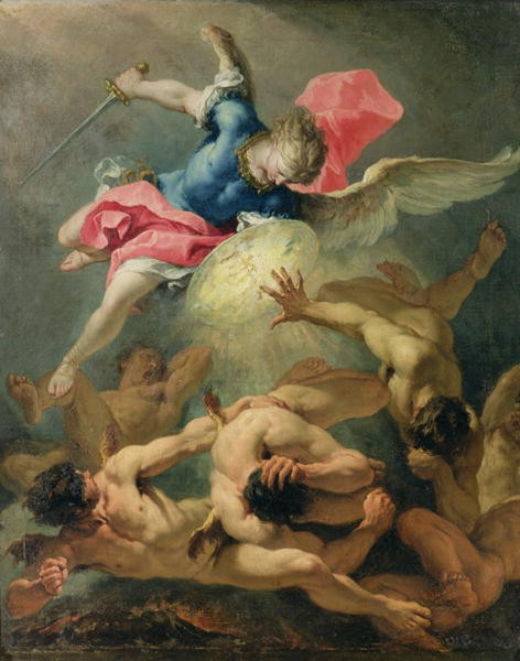 The fall of the rebel angels - Sebastiano Ricci