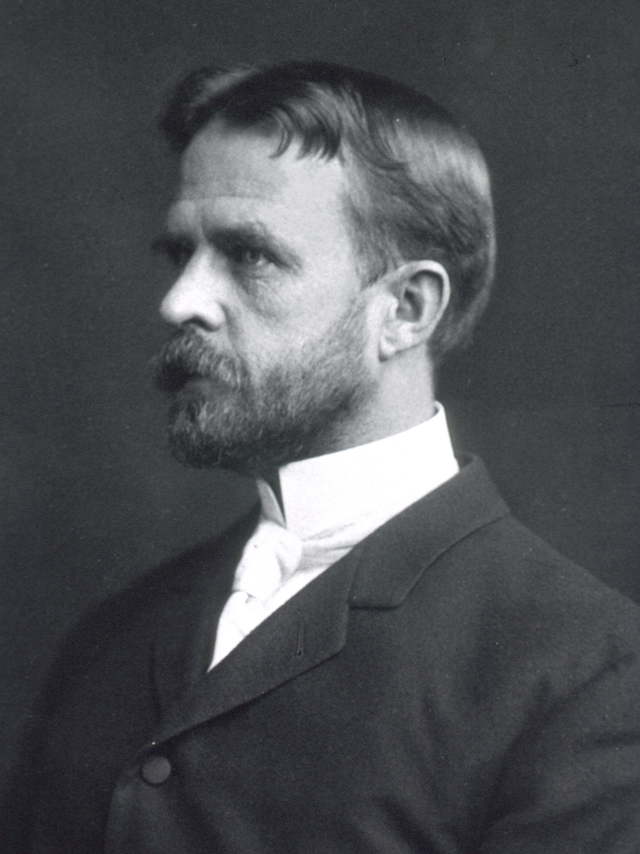Thomas Hunt Morgan, the Nobel-prize-winning biologist who popularized the use of the fruit fly, D. melanogaster, as the model organism of choice for modern genetics.