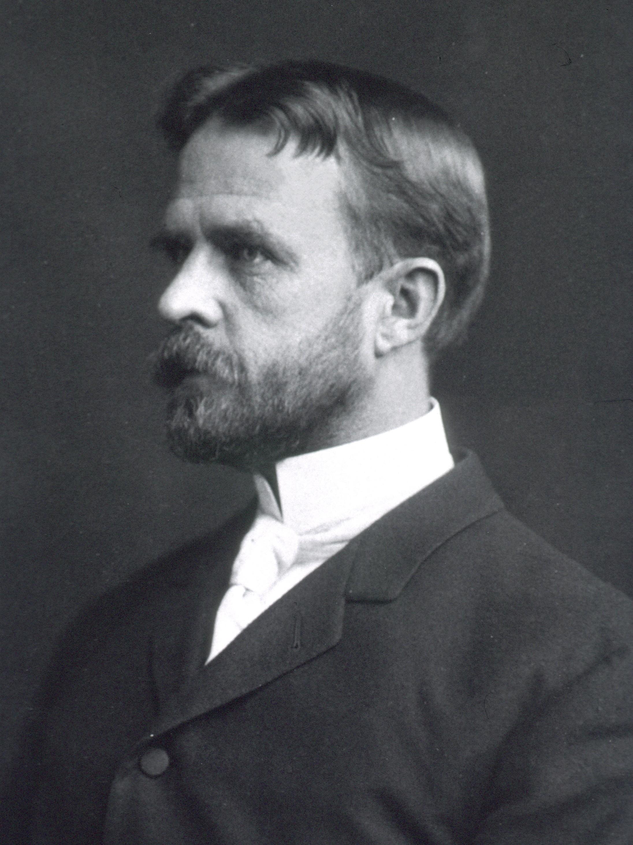Depiction of Thomas Hunt Morgan