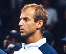 Muster at the 1995 US Open