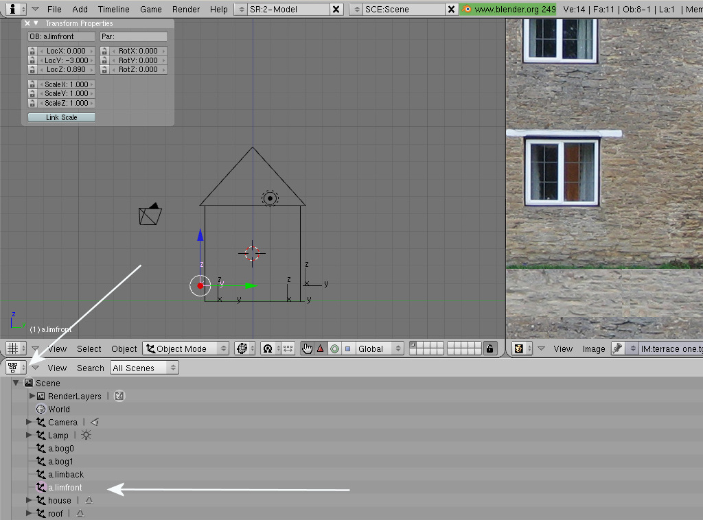 Trainz/Tutorial for Blender/Tutorial to create a moving house