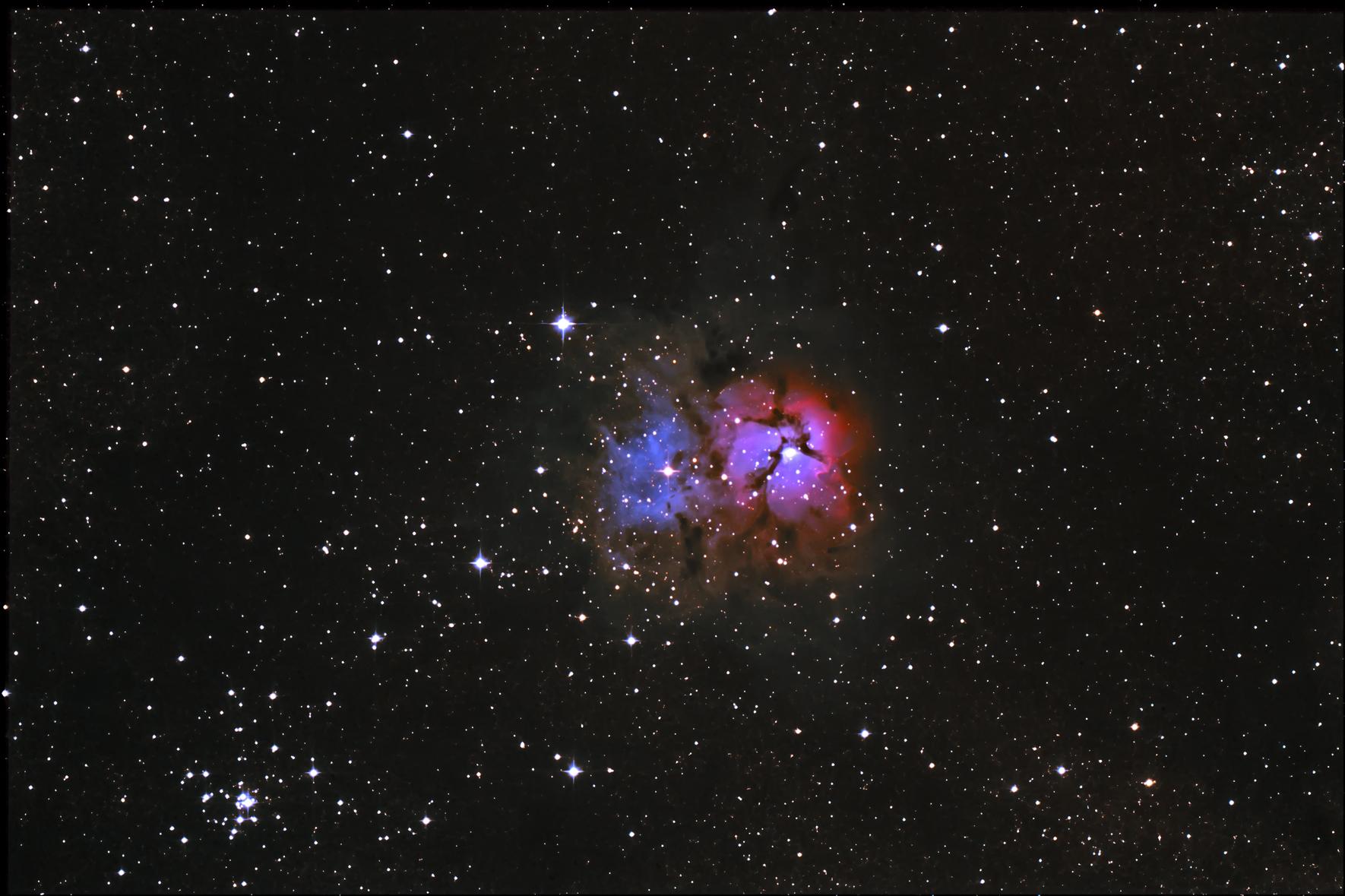 Trifid Nebula Unicorn - Pics about space