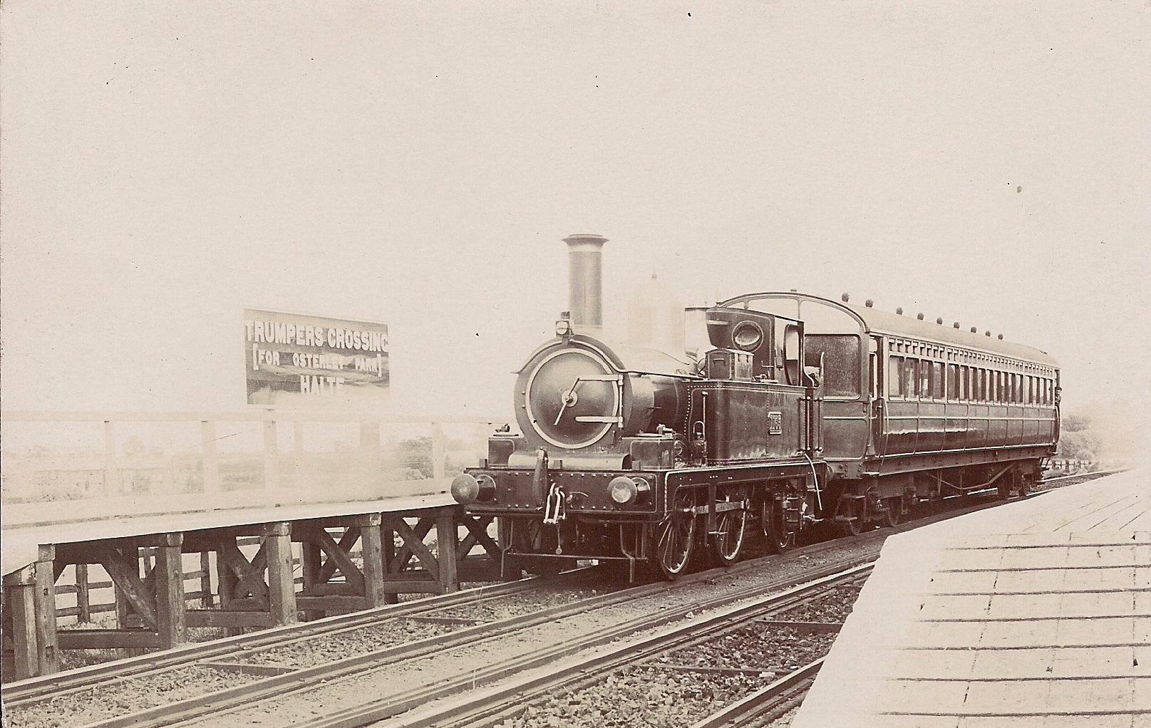 GWR. Brentham Greenford 1 Perivale Railway Station Photo Park Royal Line