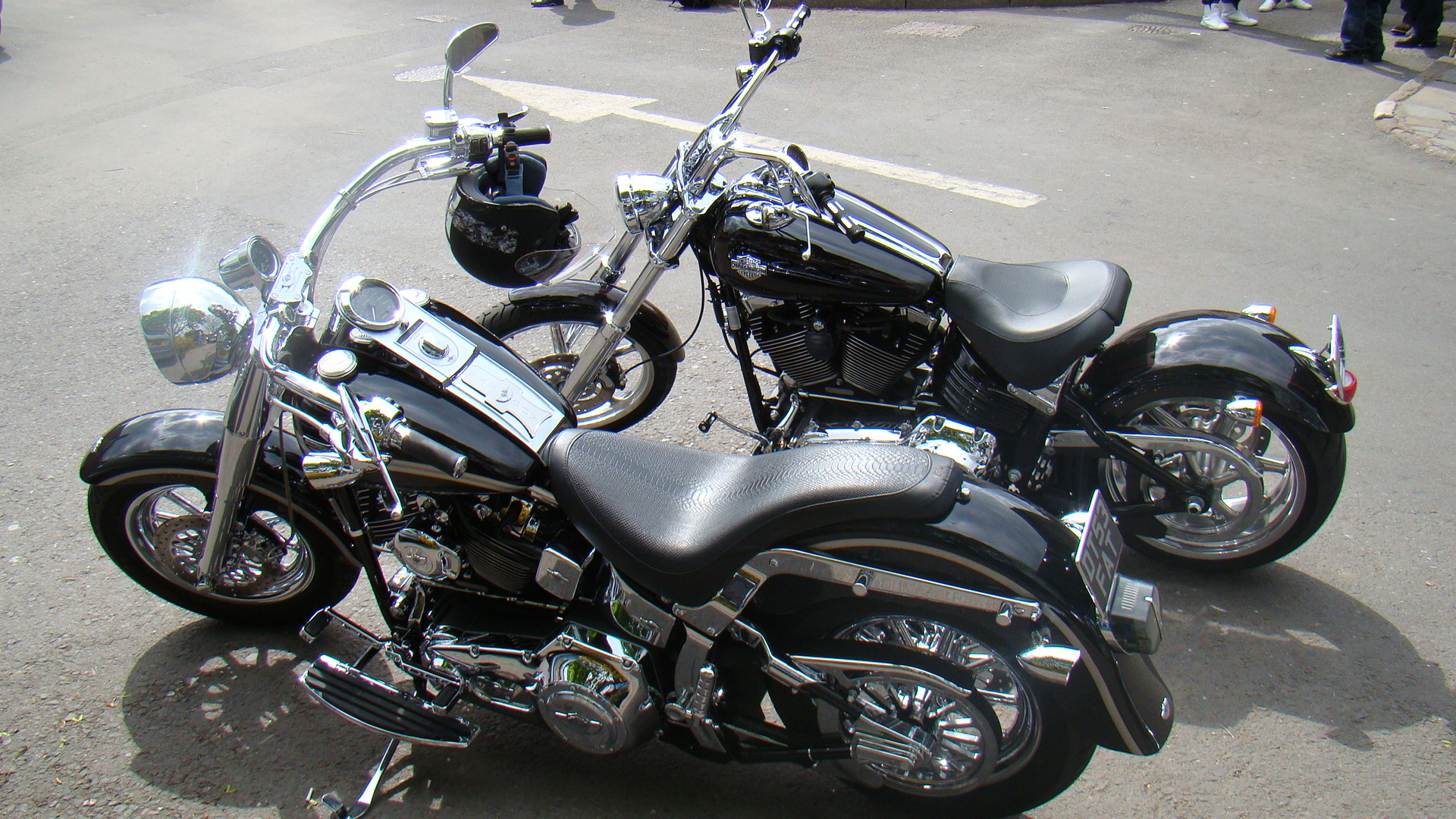 Harley Paint Black Pearl