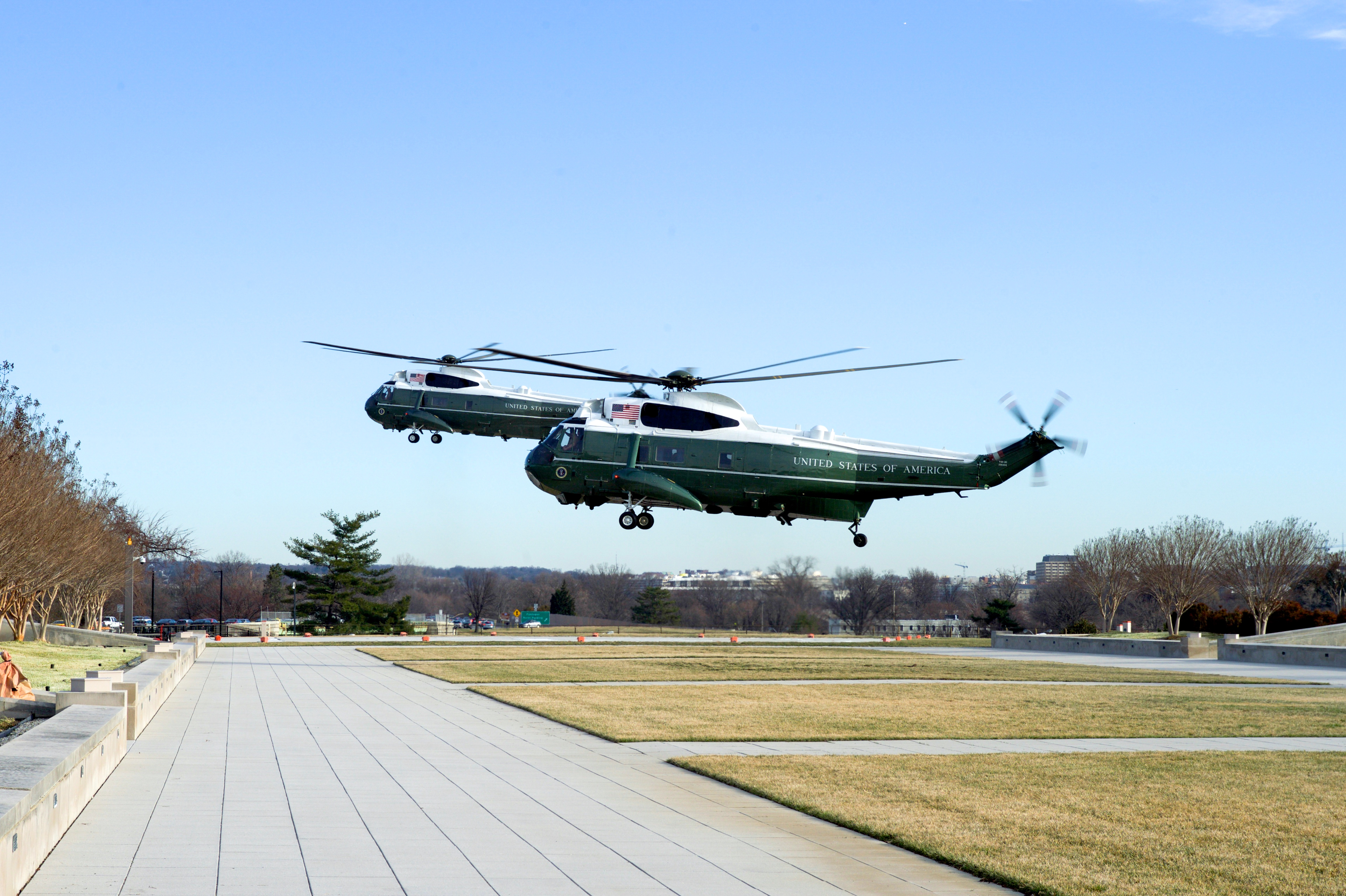 "File:Two VH-3D ""Sea King"" Helicopters, Including One ..."