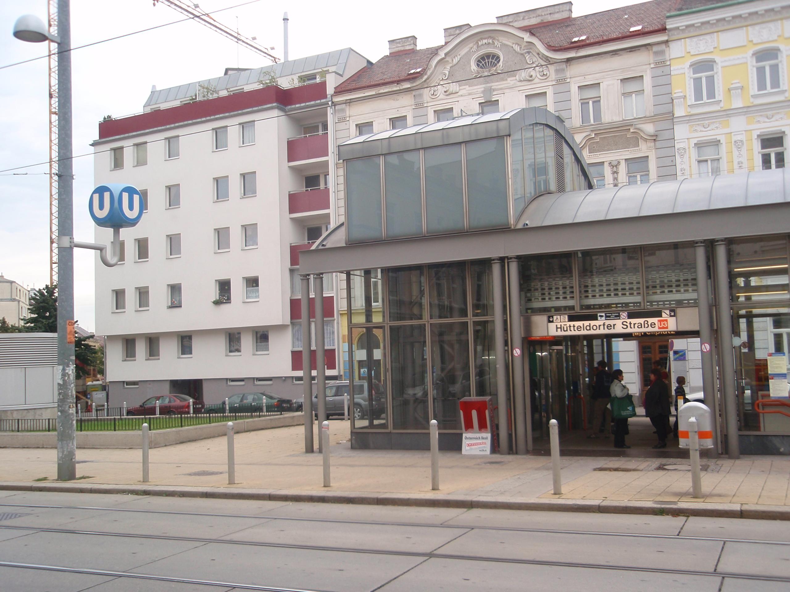 U Bahn Station Hütteldorfer Straße Wikipedia