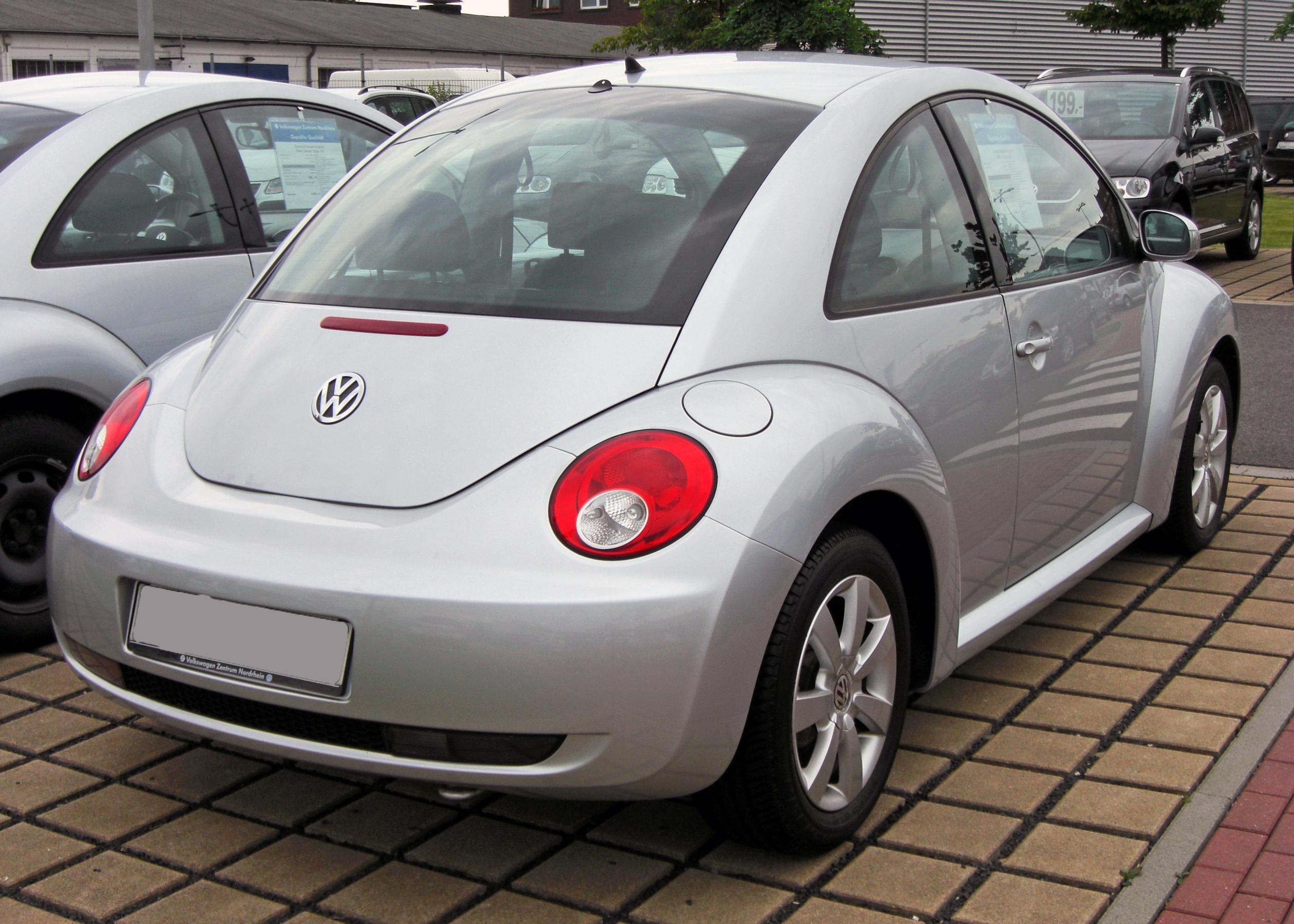 File Vw New Beetle Facelift 20090620 Rear Jpg Wikimedia