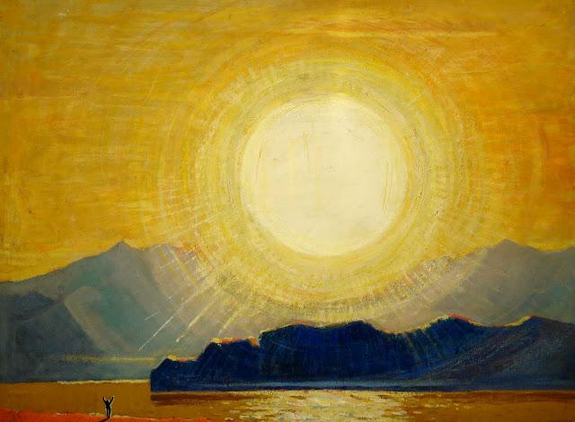 V Tomilovsky sunrise