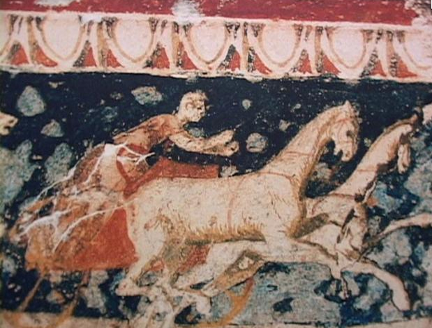 Archivo: Vergina tumba real - fresco3.jpg