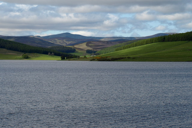 View of Backwater Reservoir and Beyond - geograph.org.uk - 1326435