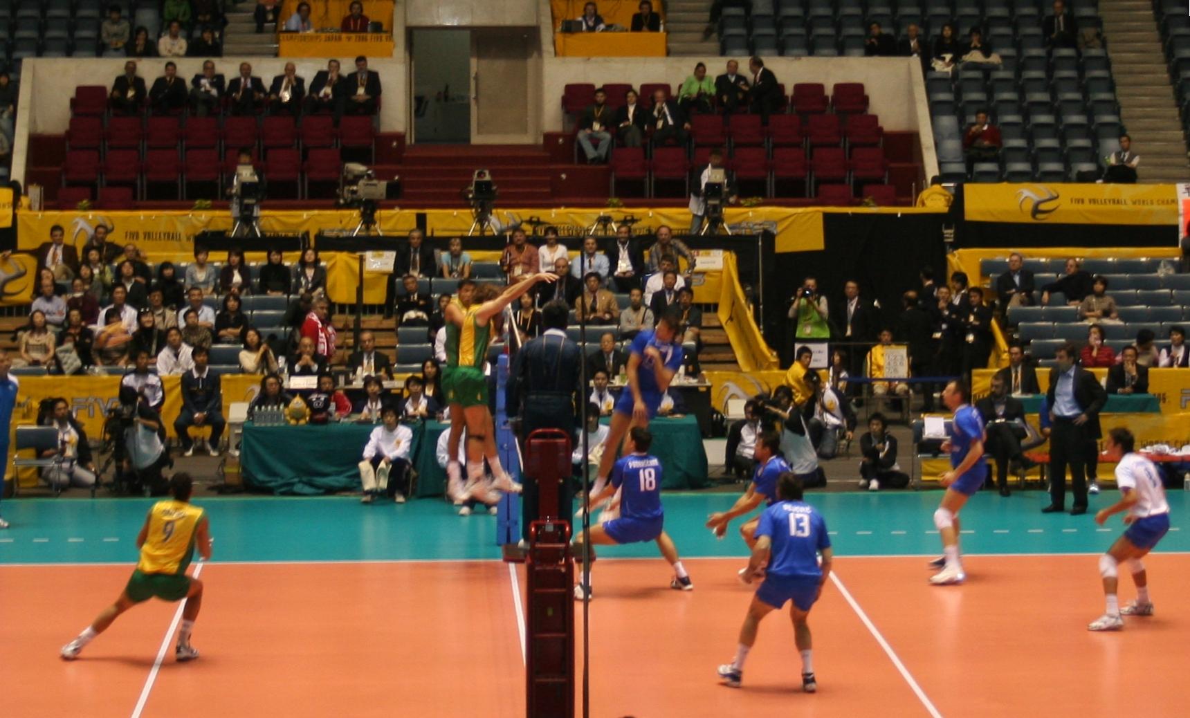 Sports Mens Volleyball WC 2006 Brazil Vs Serbia httpenwikipediaorgwikiBrazilmen27s
