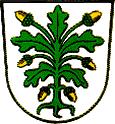 Das Wappen von Aichach
