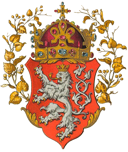 The Coat of Arms of the Kingdom of Bohemia