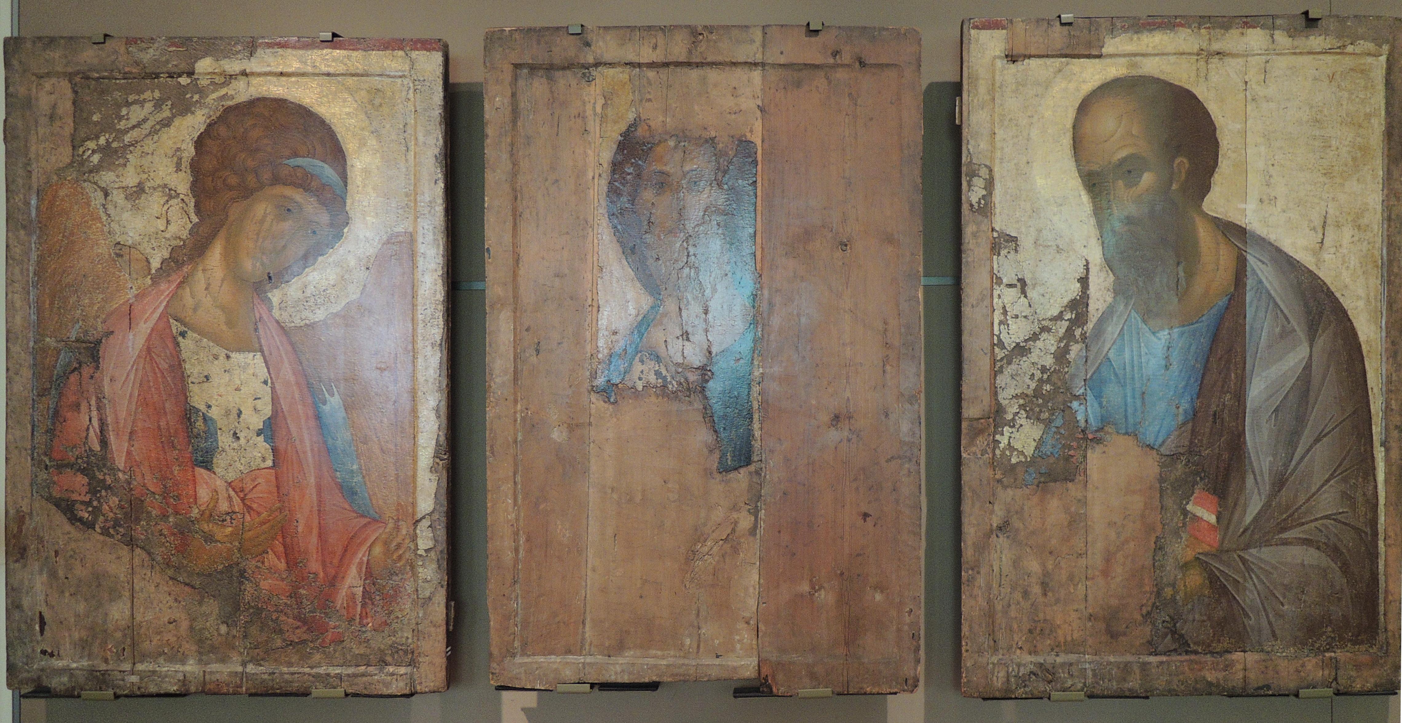 Această descoperire ne confruntă cu nevoia de a regândi istoria artei rusesti din această epocă și de a abandona mitologia familiară copilăriei.