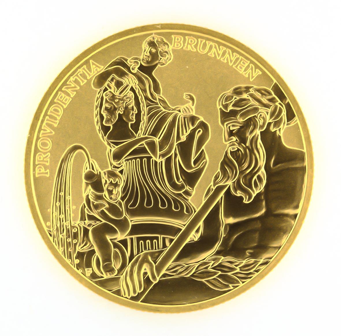 Fileösterreich 100 Euro Goldmünze Bildhauerei 2002 Reversjpg