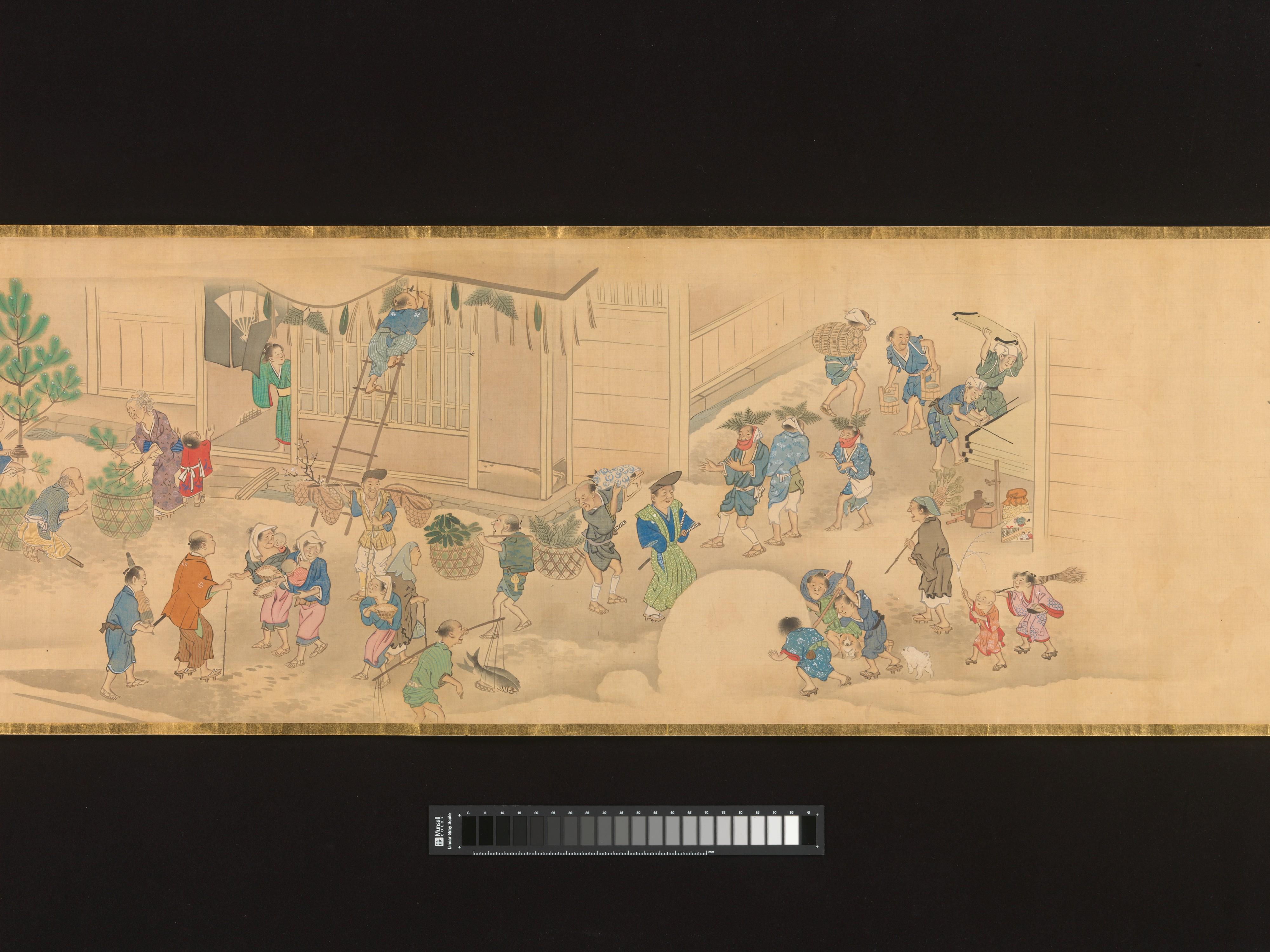 File:華洛四季遊楽図巻-Scenes of the Four Seasons in Kyoto MET ...