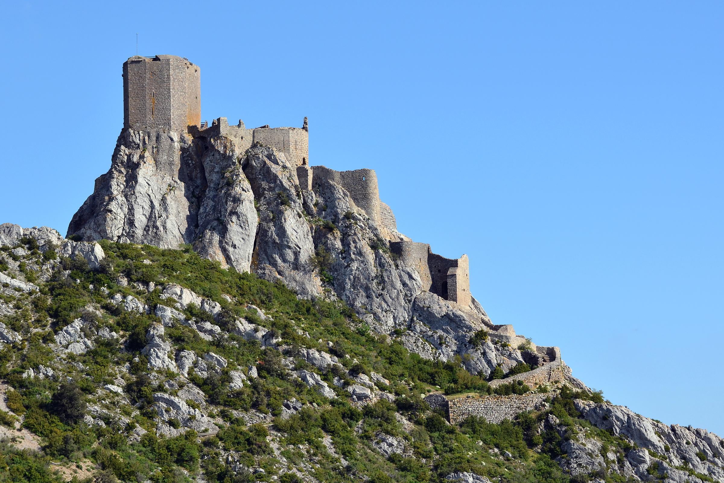 Image illustrative de l'article Château de Quéribus