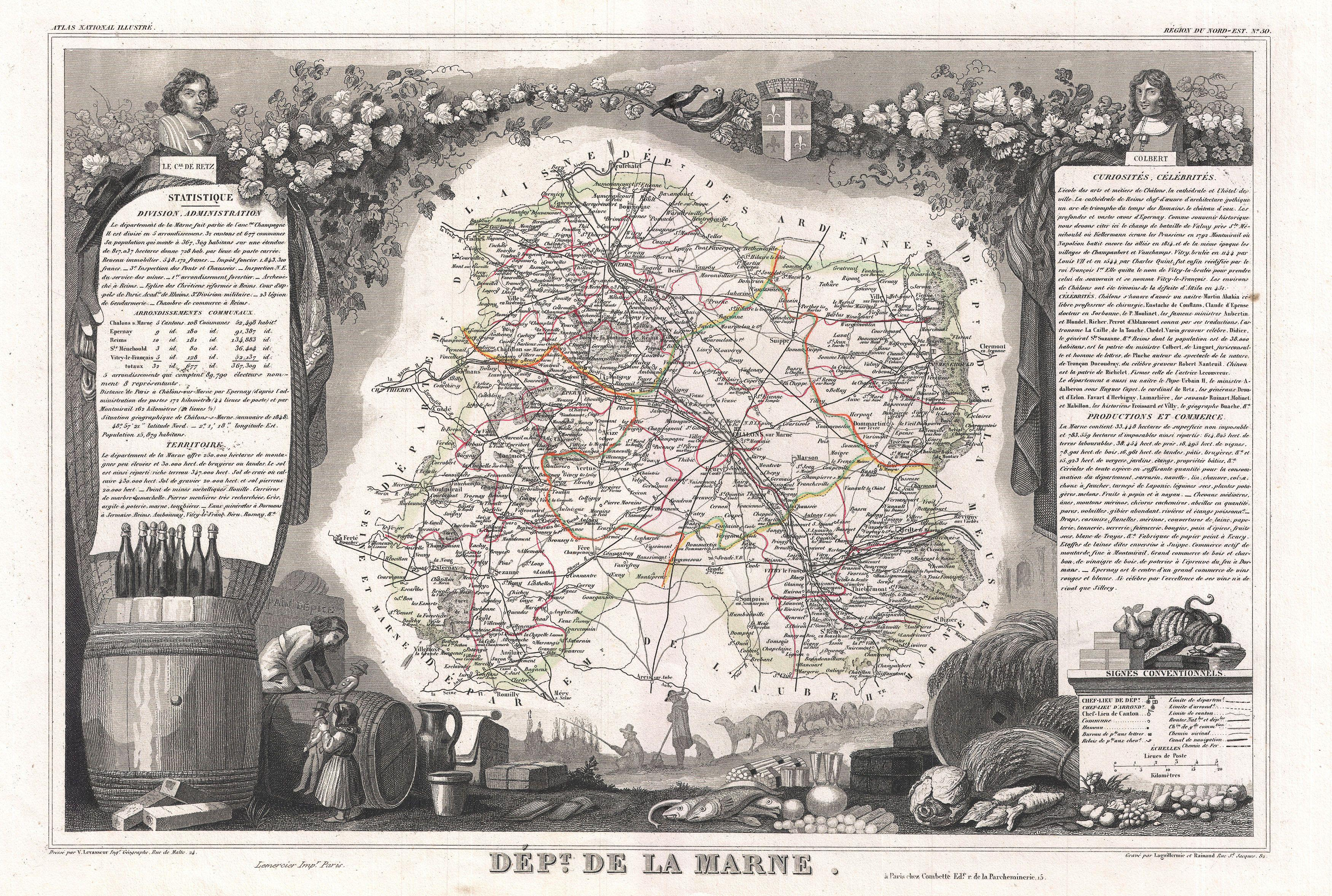 Image gallery history champagne france for Champagne region in france