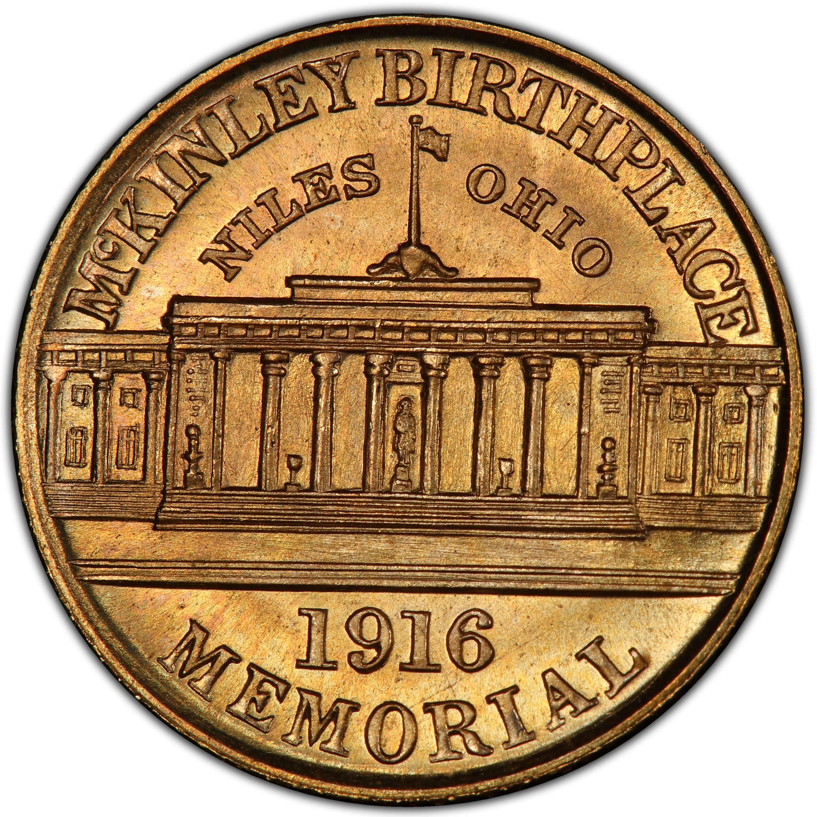 1916_McKinley_Birthplace_Memorial_uncirc