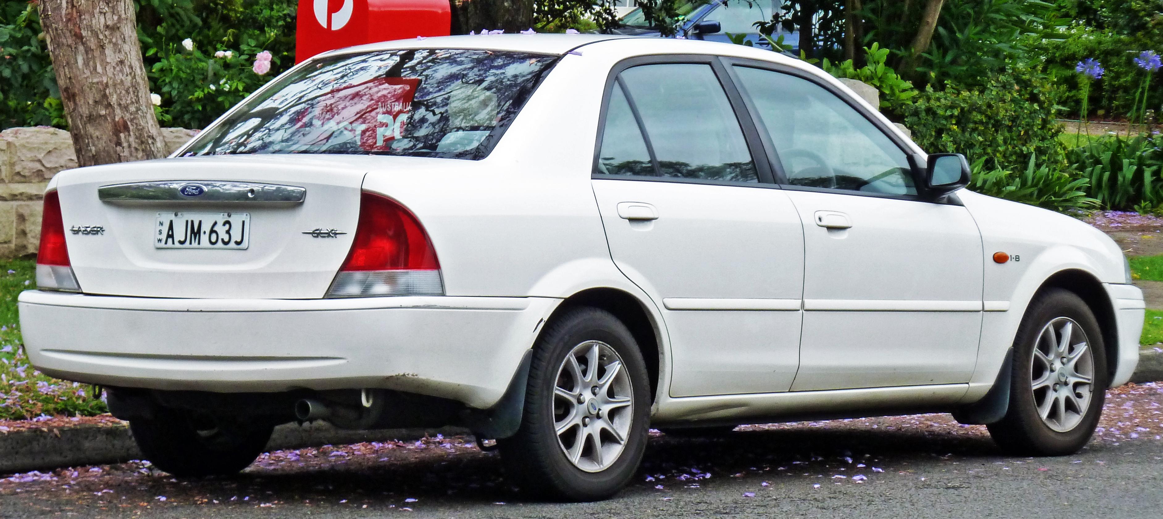 Ford Focus Wikipedia File:1999-2001 Ford Laser (KN) GLXi sedan 02.jpg ...
