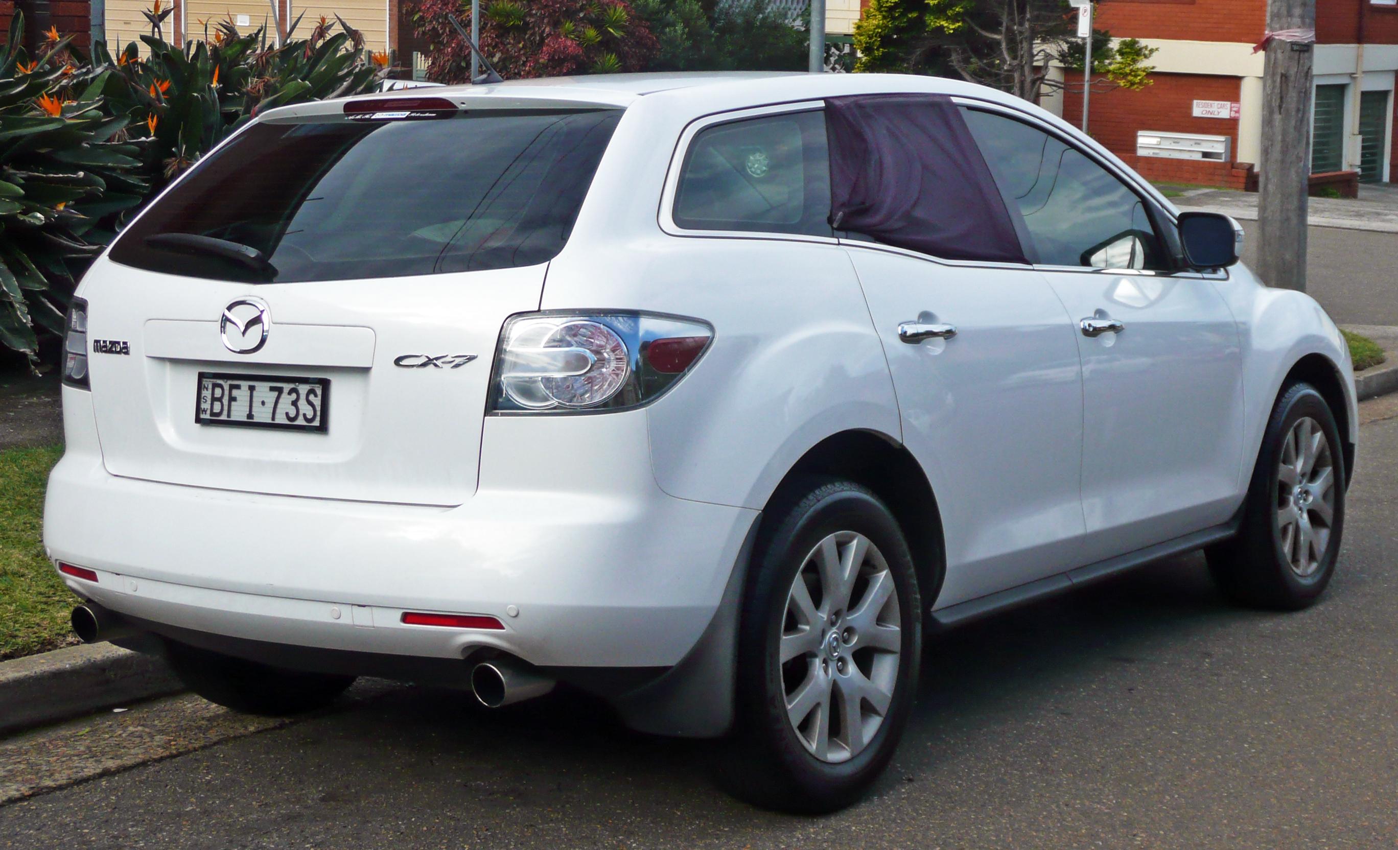 Kekurangan Mazda Cx 7 2009 Review