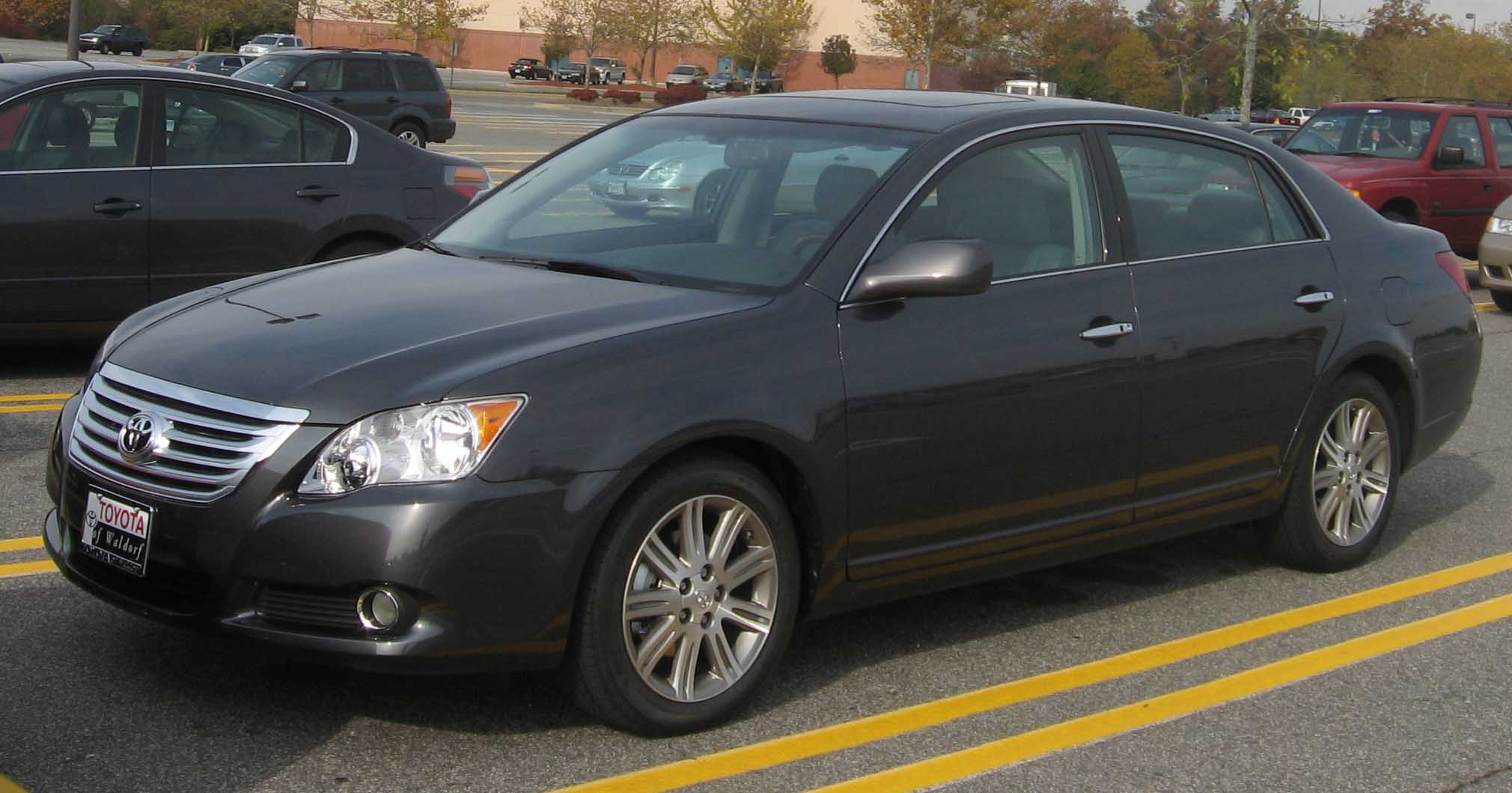File 2008 Toyota Avalon Jpg Wikimedia Commons
