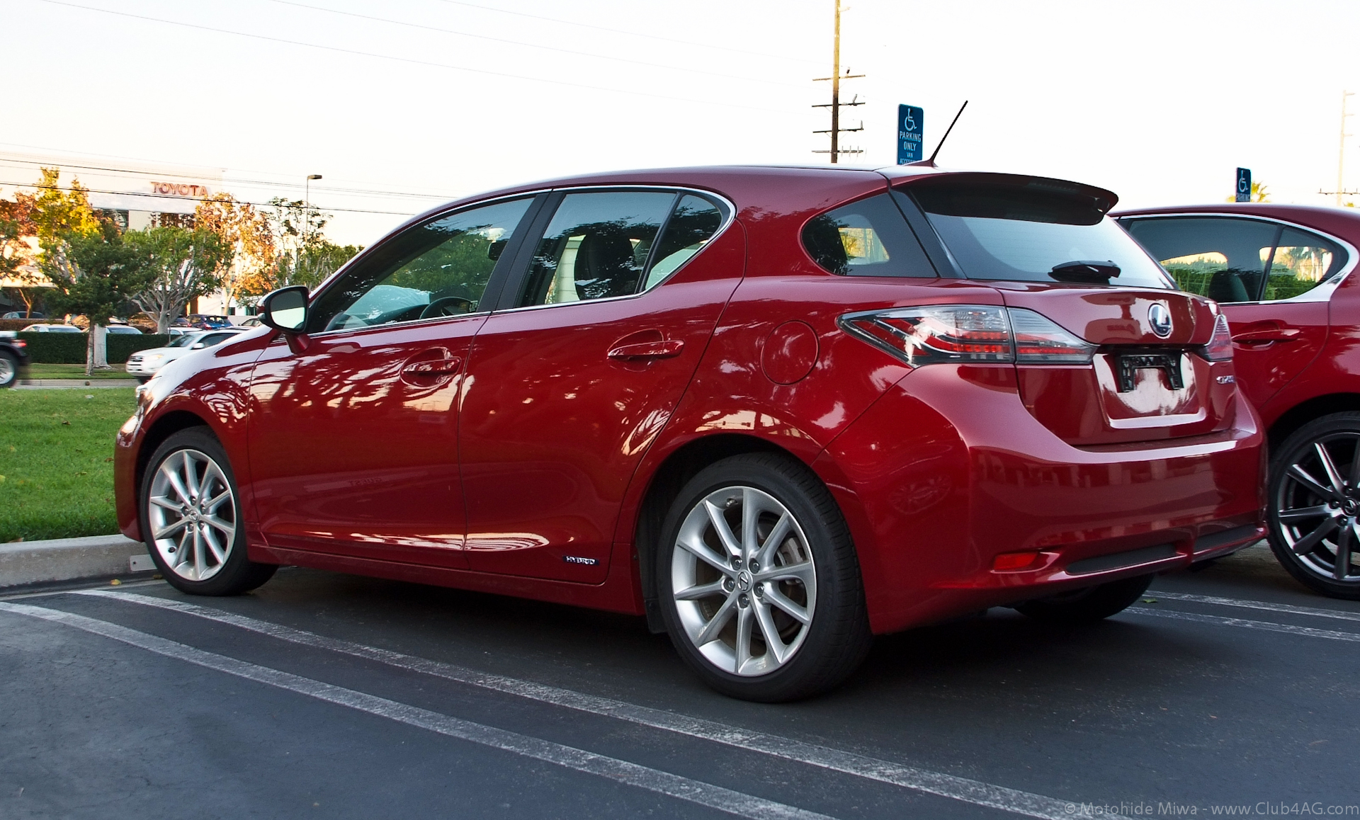 2011 lexus ct 200h red 200 interior and exterior images
