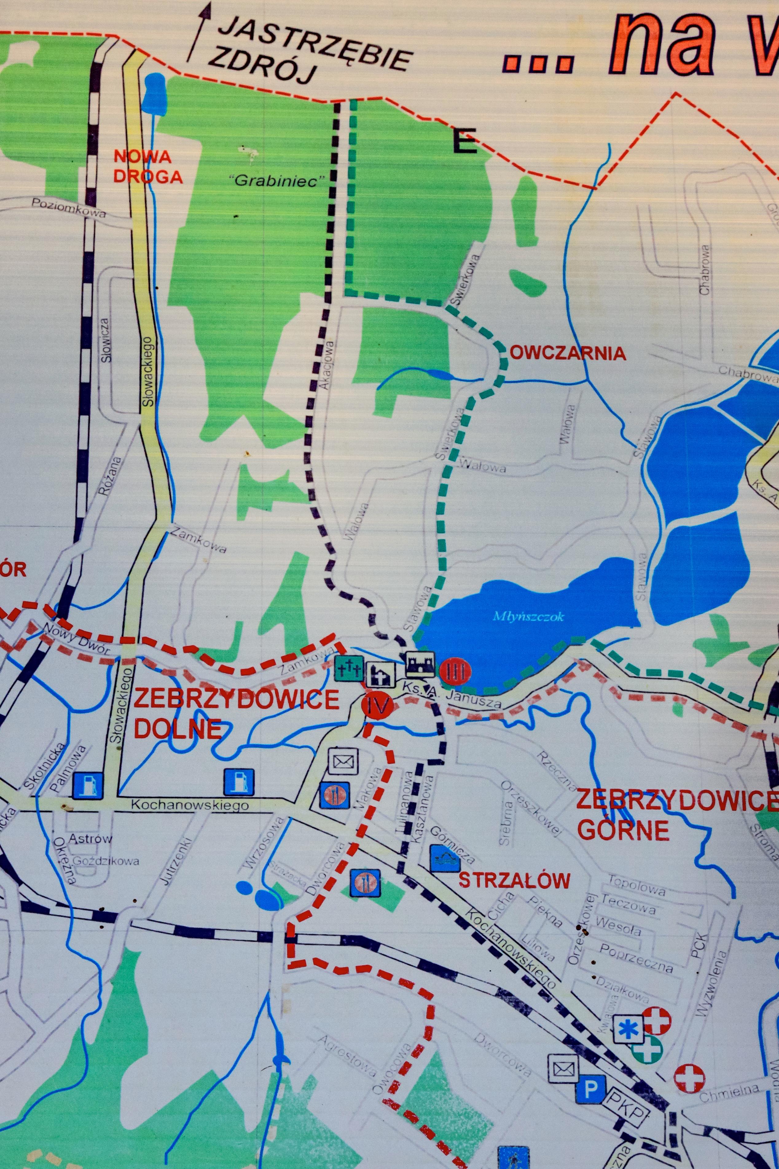 File 2012 Powiat Cieszynski Marklowice Gorne Mapa Turystyczna