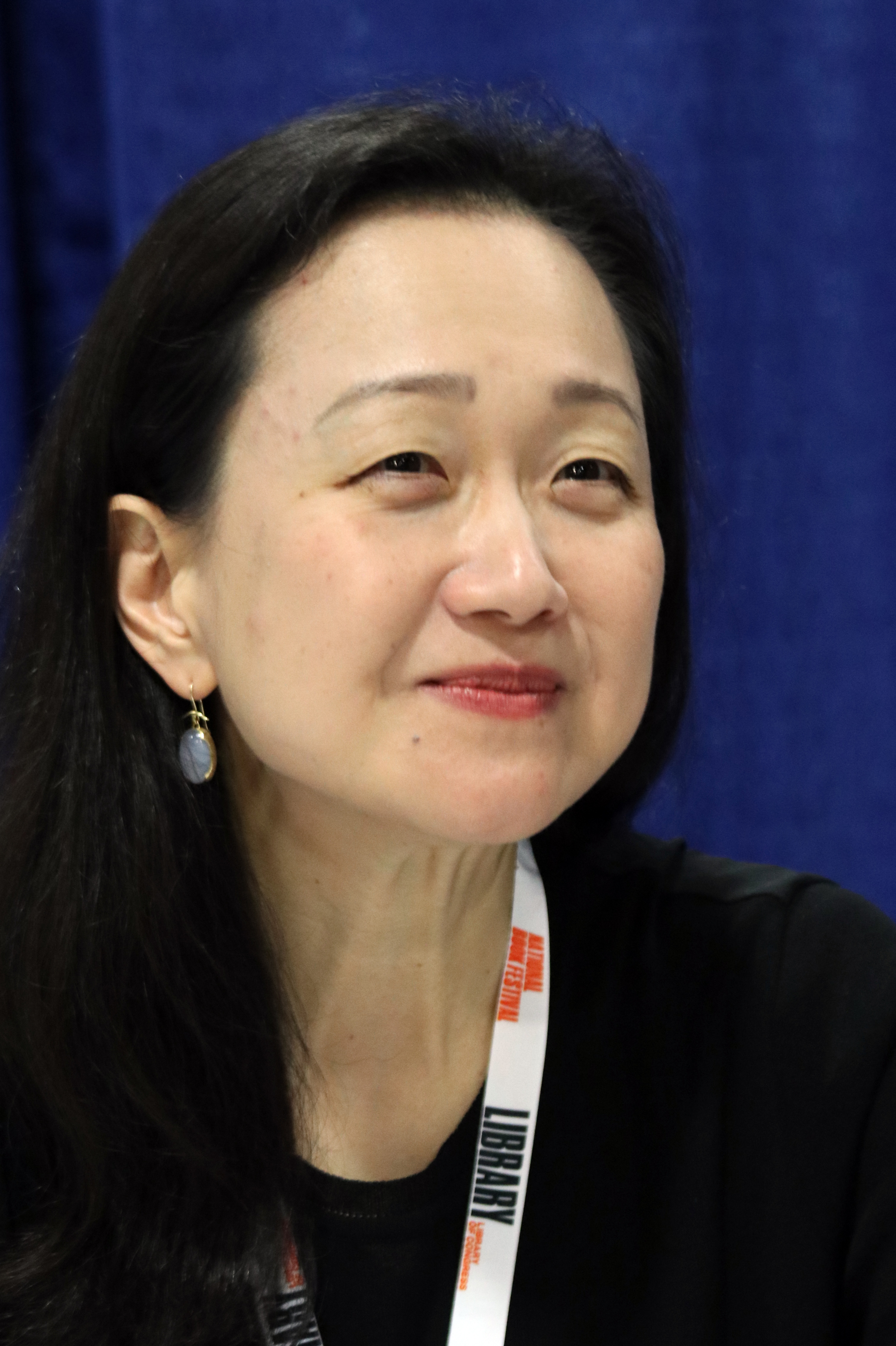 Lee at the 2018 U.S. [[National Book Festival]]