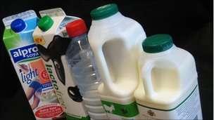 pypische Milchersatzprodukte aus dem Laden