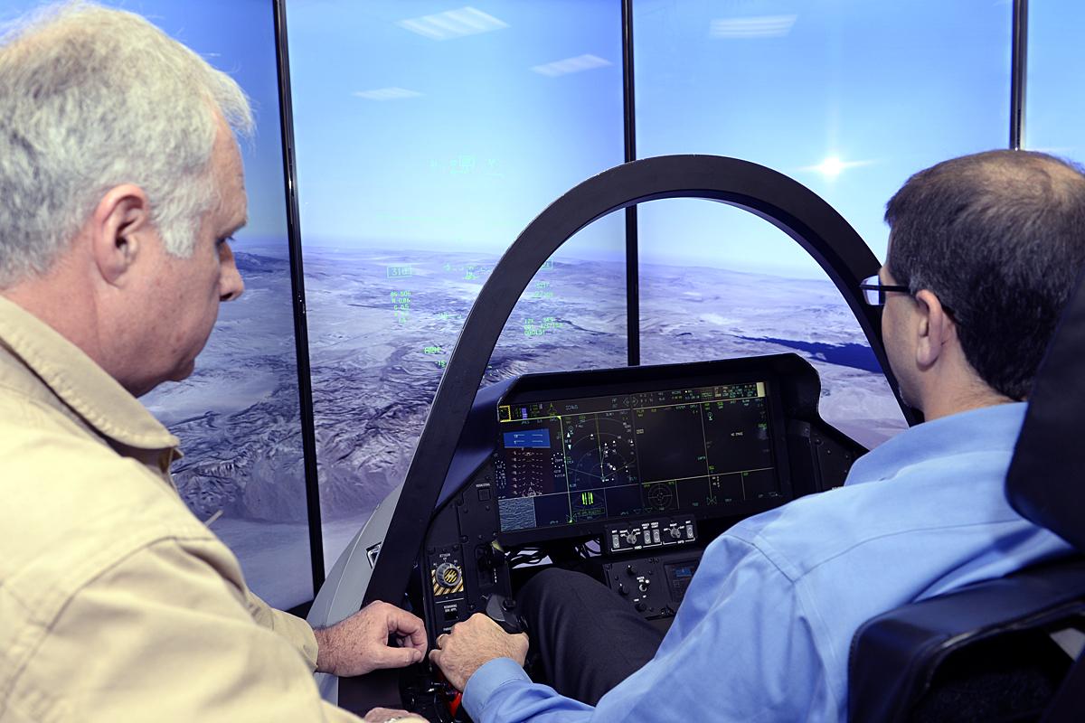 File:A virtual landing- F-35 simulator flies high in Israel (17165080812).jpg - Wikimedia Commons