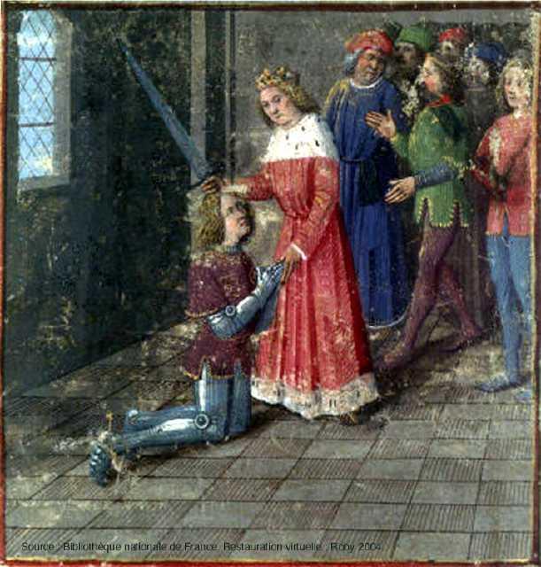 Lancelot du lac wikip dia - Tristan le chevalier de la table ronde ...