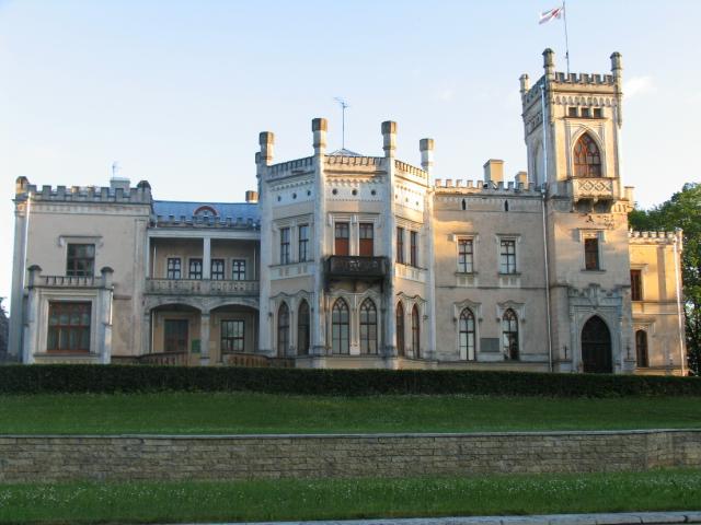 Алуксне: Новый замок