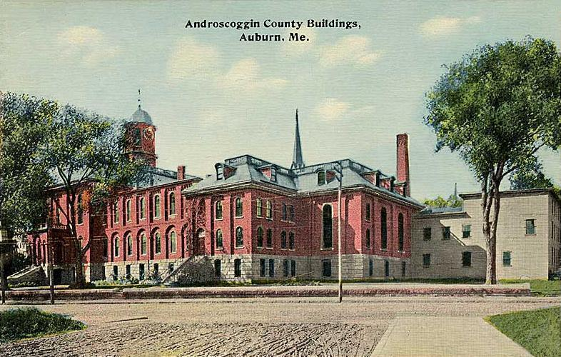 Amazing Androscoggin County Courthouse And Jail Wikipedia Download Free Architecture Designs Scobabritishbridgeorg