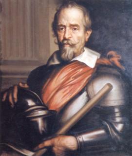 Antoon van Dyck (c. 1631) Álvaro de Bazán y Benavides, retrato