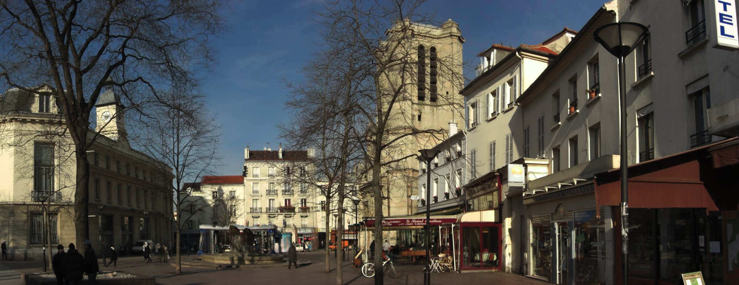 plan k Épinay-sur-Seine
