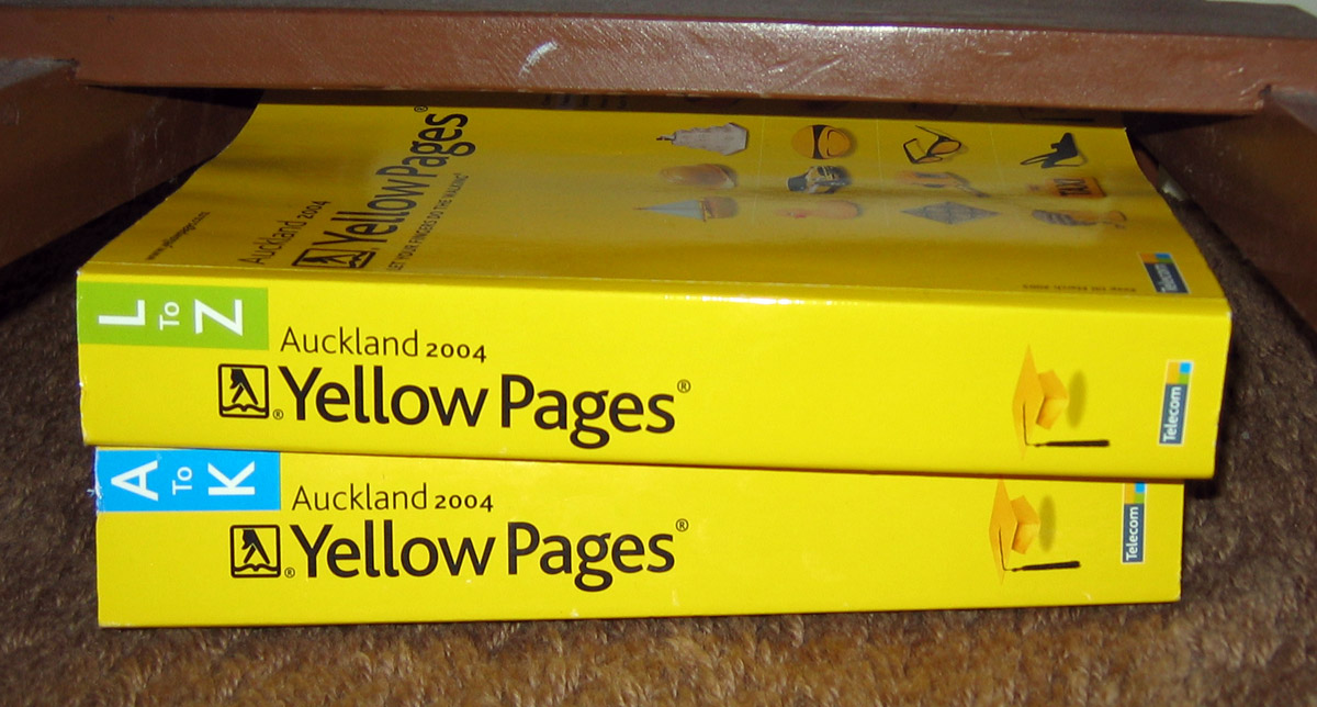 White pages telephone book auckland new zealand