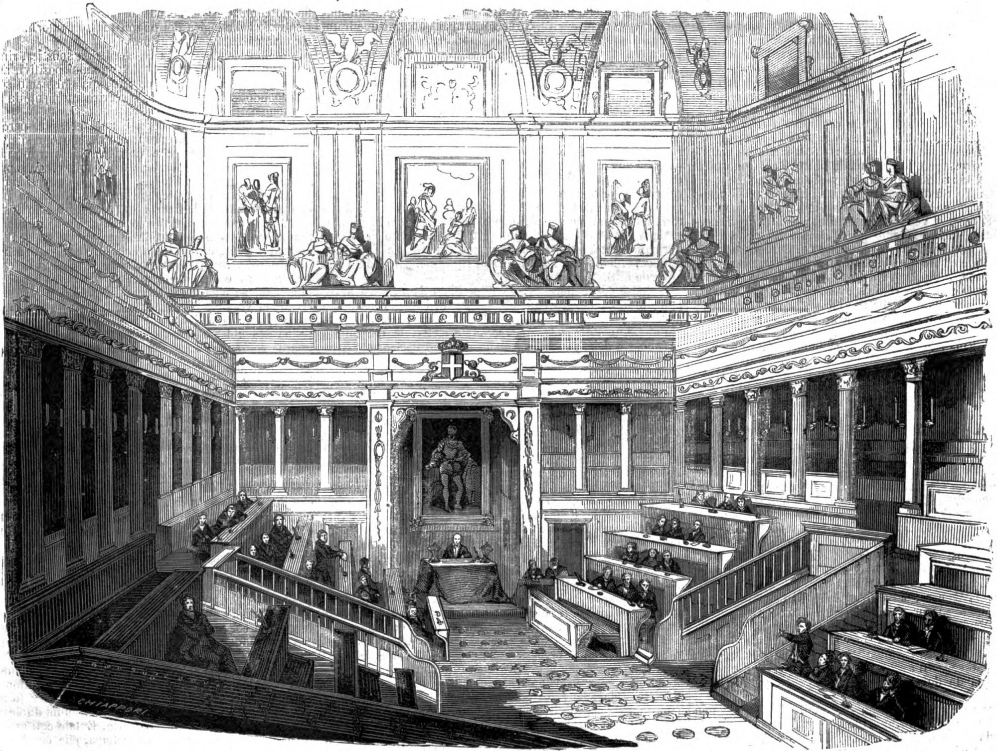Senatori della i legislatura del regno di sardegna wikipedia for Camera dei senatori