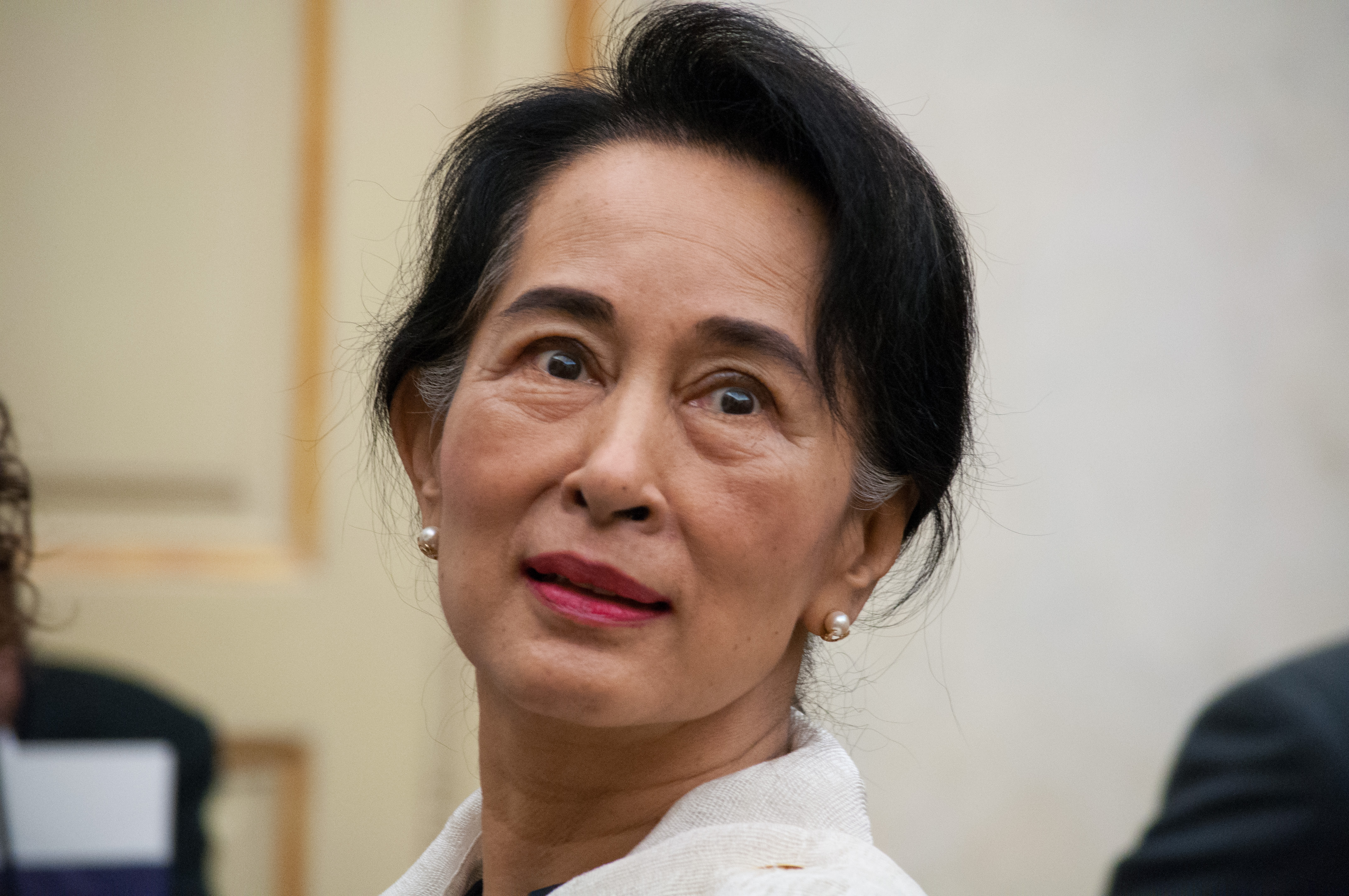 Poet Aung San Suu Kyi