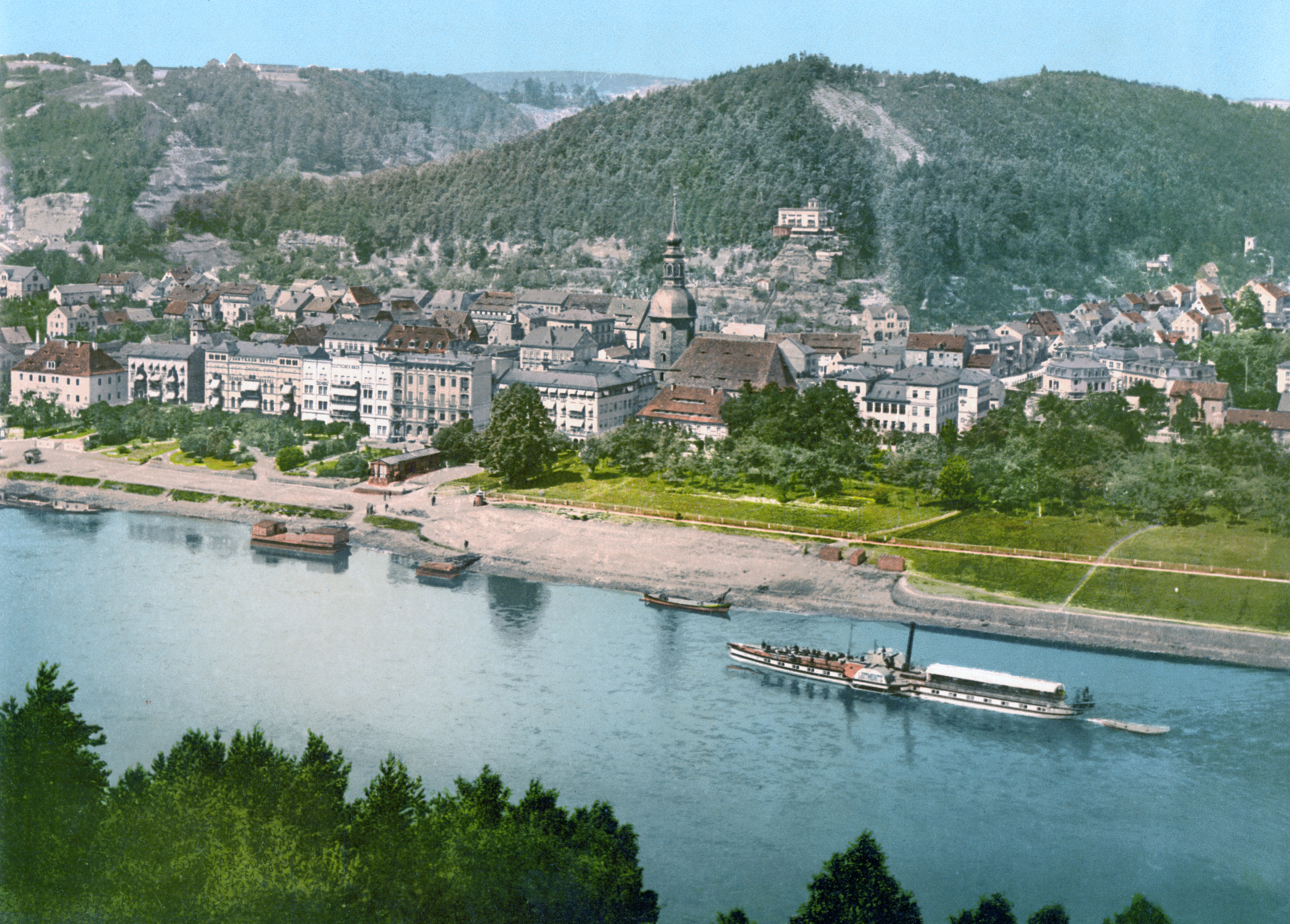 File:Bad_Schandau_around_1900 on Color By Number Division