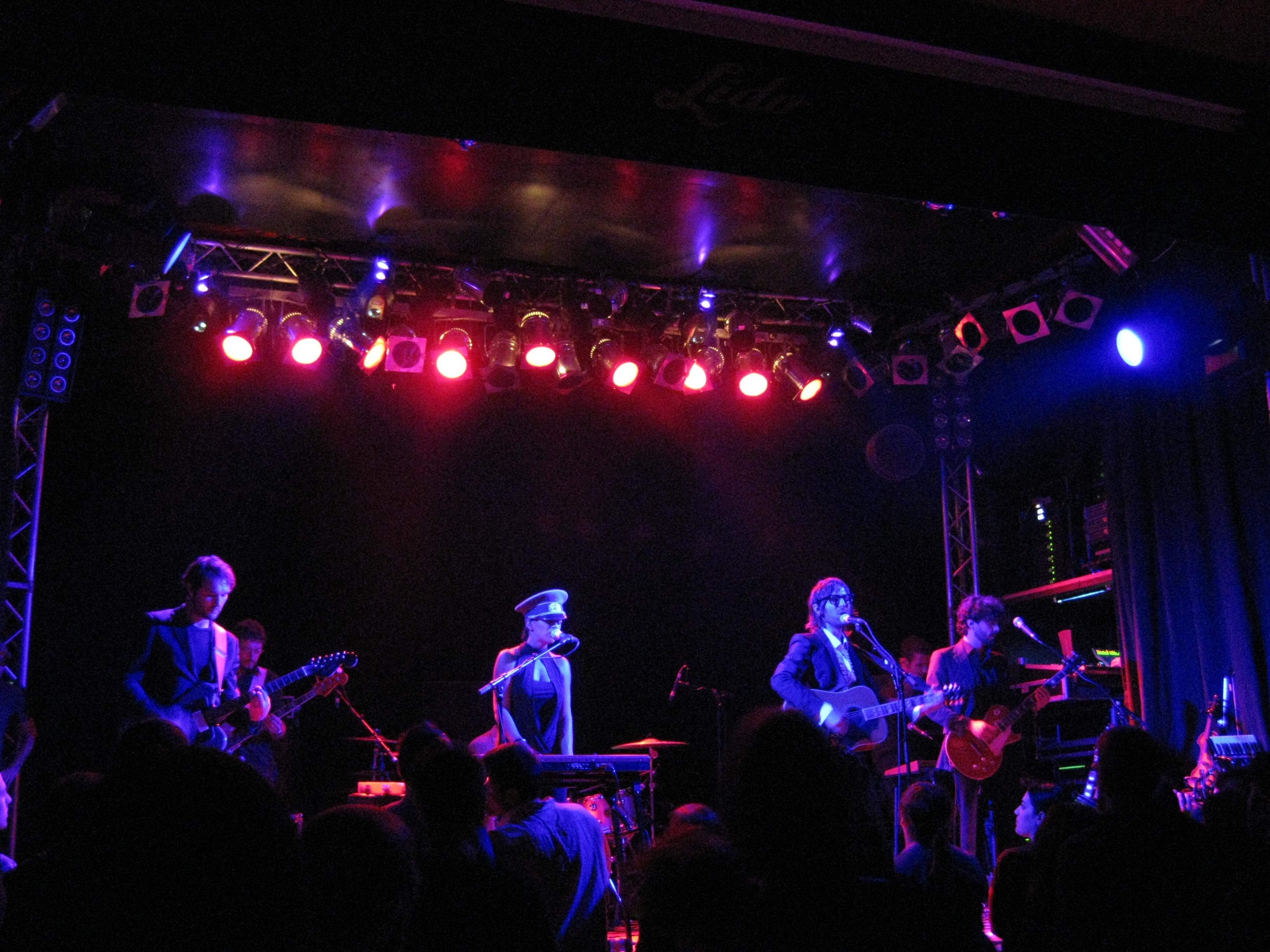 Concert de Baustelle à Berlin en 2008