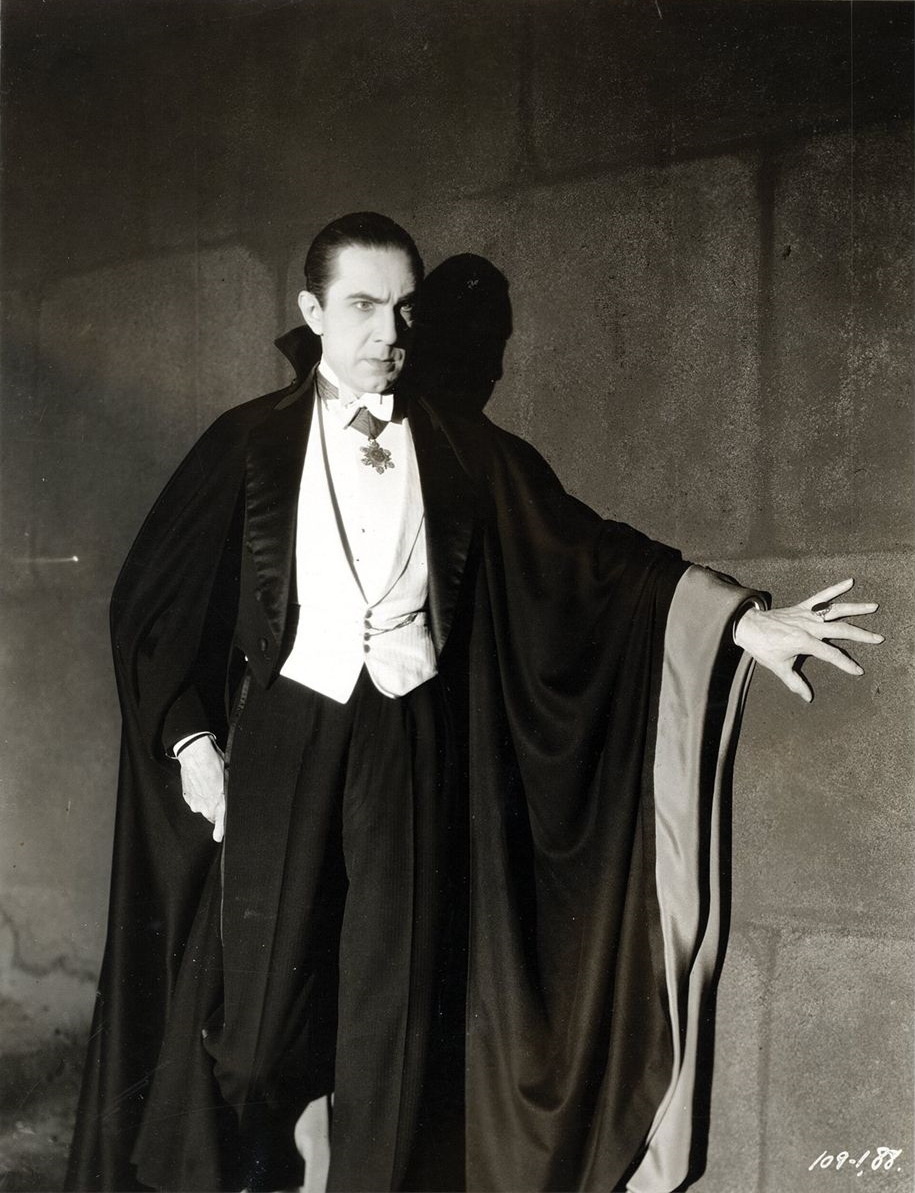Bela Lugosi as Dracula, anonymous photograph from 1931