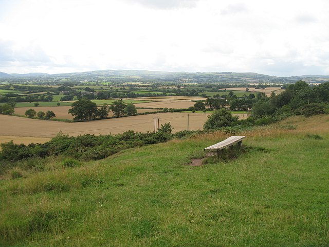 Bench, Lyth Hill - geograph.org.uk - 1614189