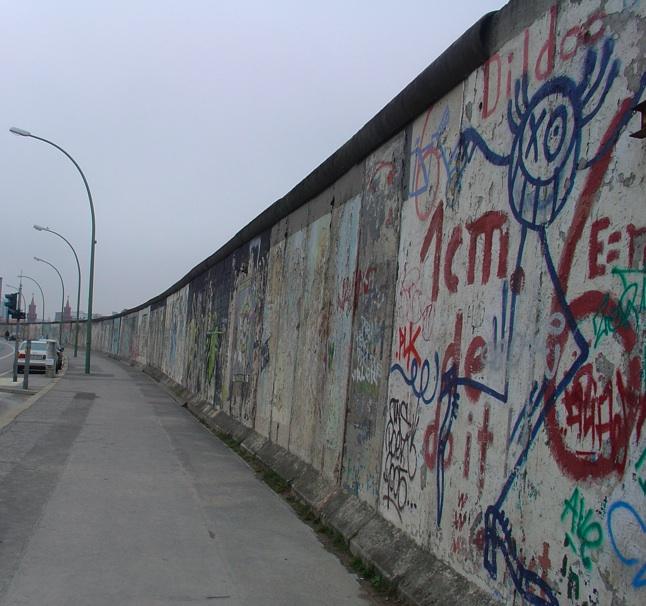 Berlinermuren kommuniserte også med verden