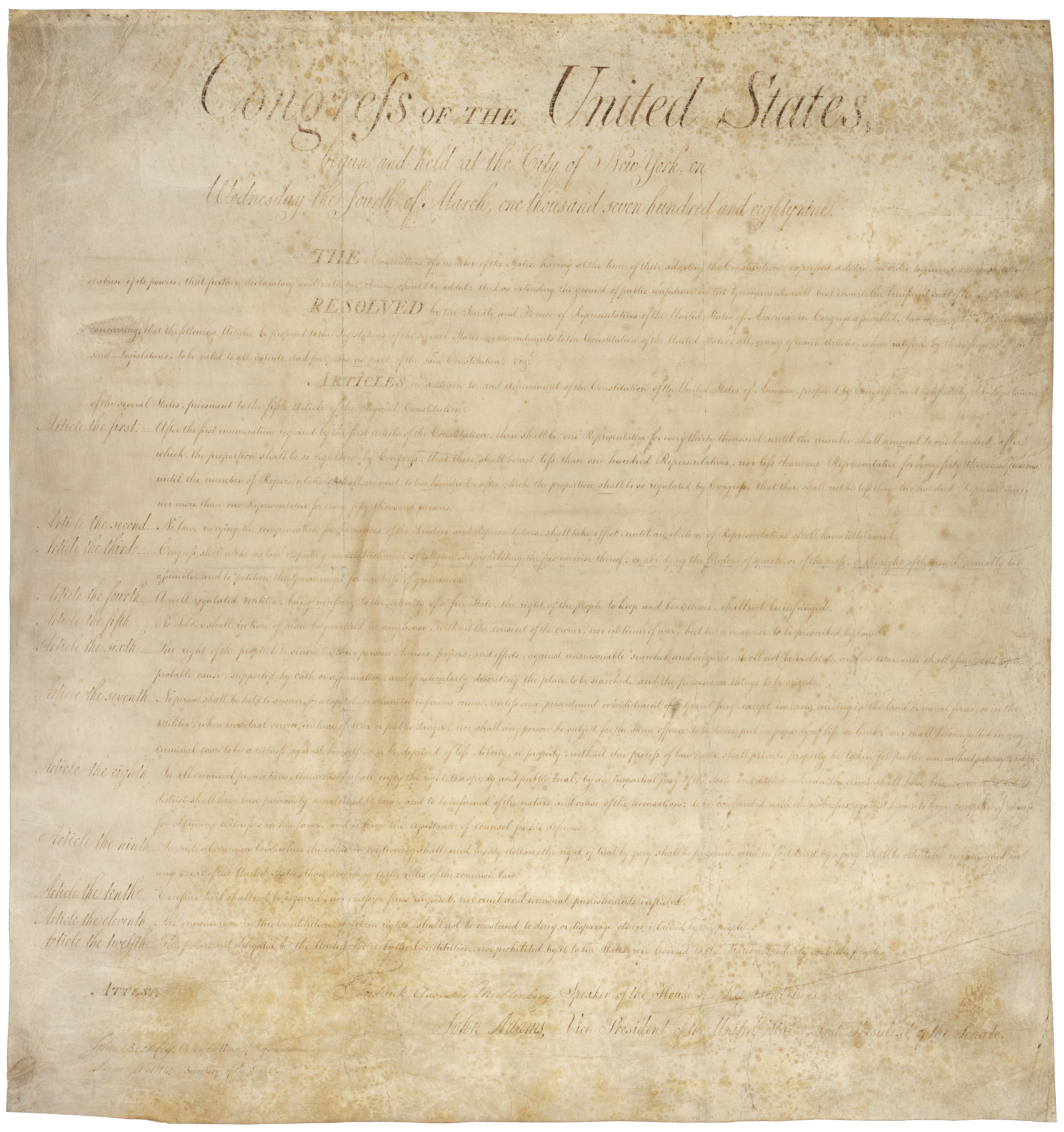 file bill of rights pg1of1 ac png wikimedia commons
