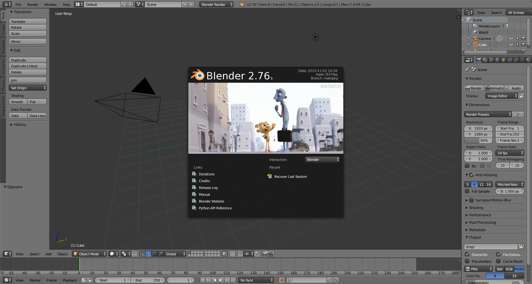 blender 2.76 tutorial pdf