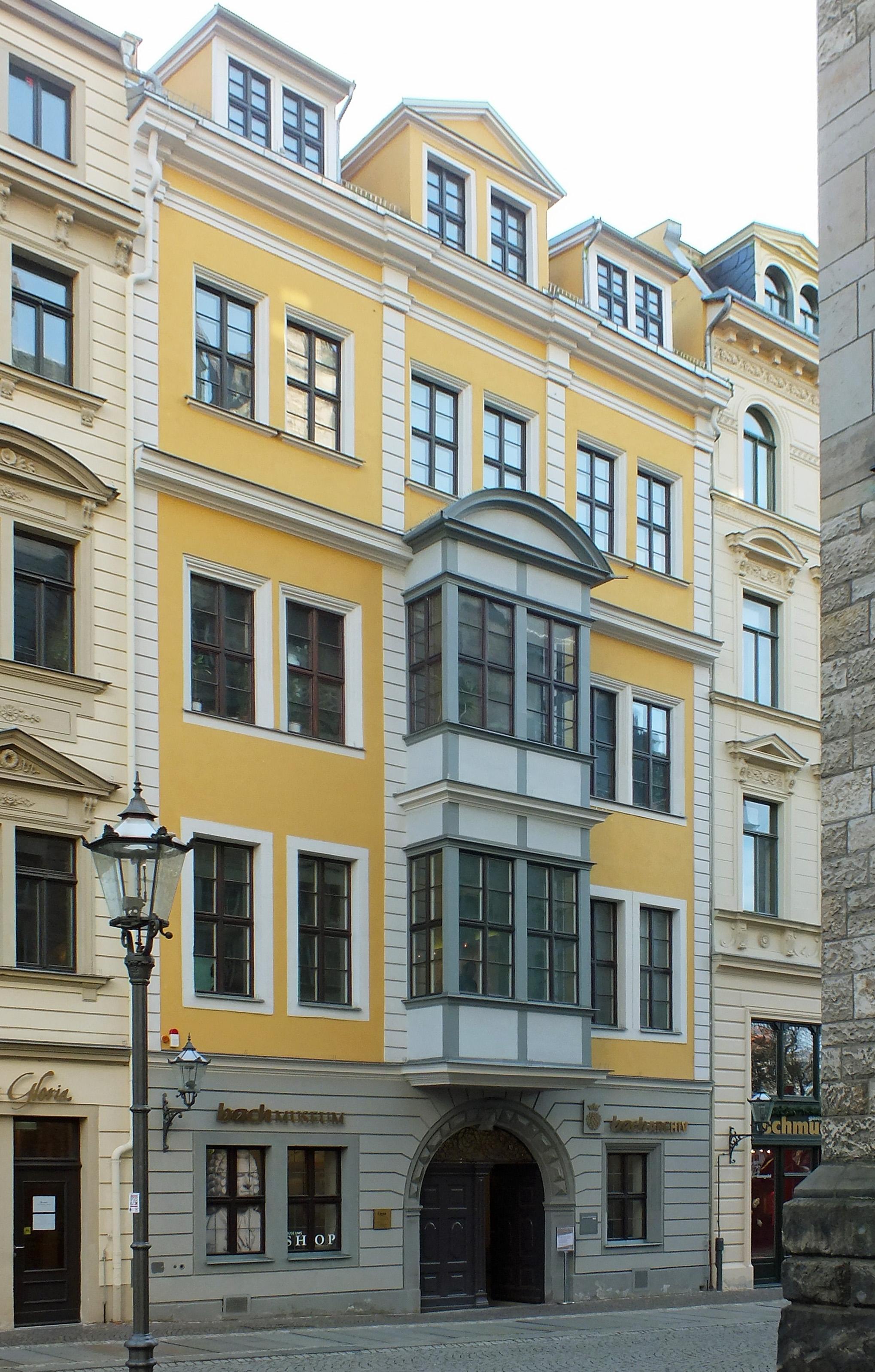 Bosehaus, Leipzig, es donde el Bach-Archiv Leipzig ha estado desde 1985.
