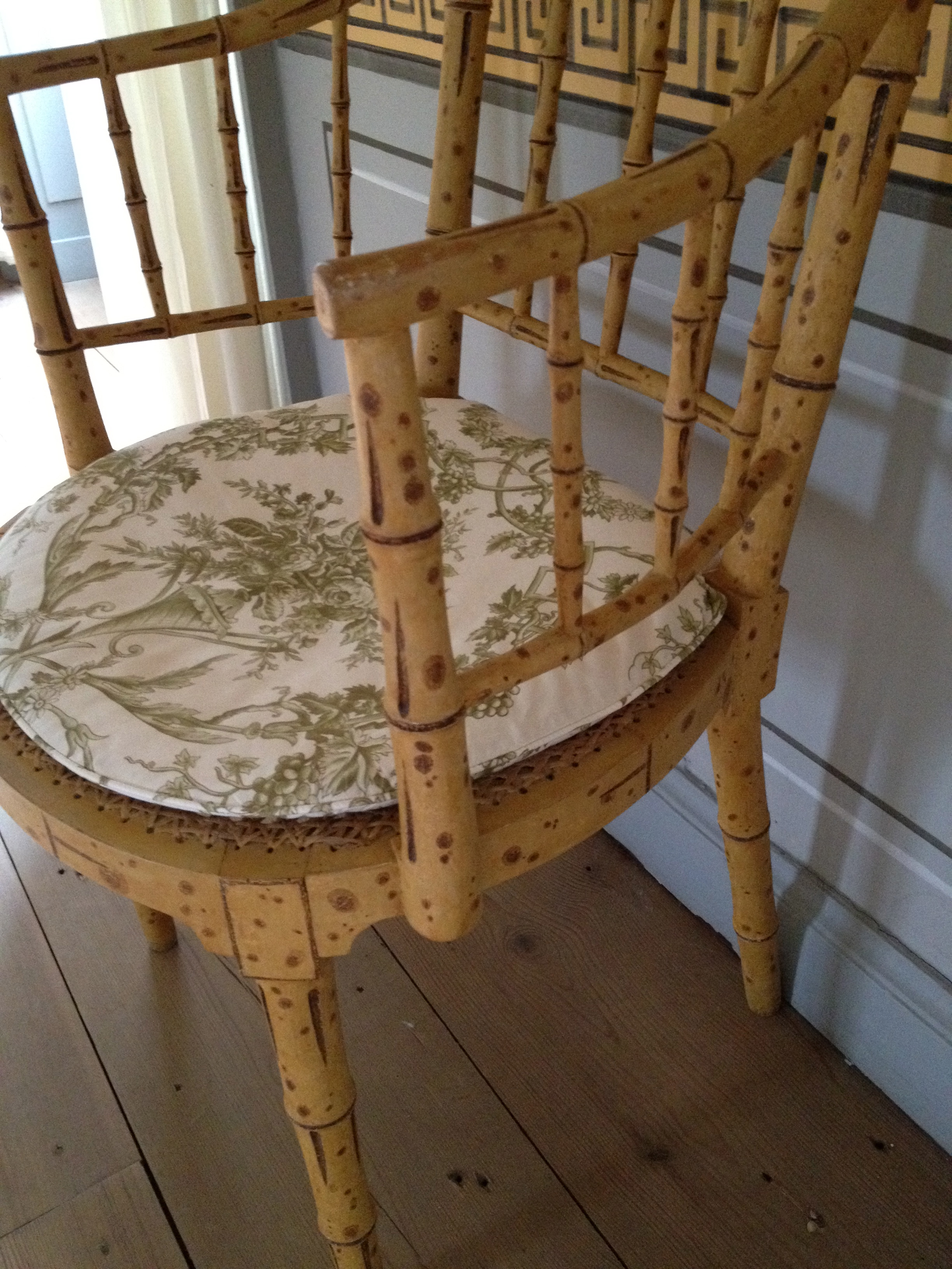 chair circles bamboo cebelle l